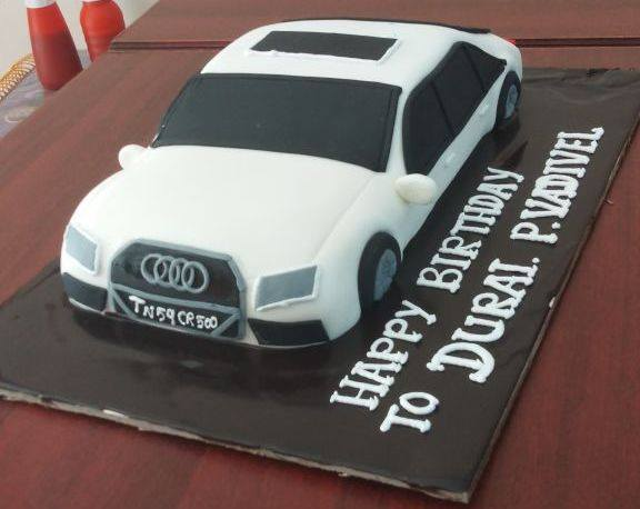 audi car cake delivery in madurai