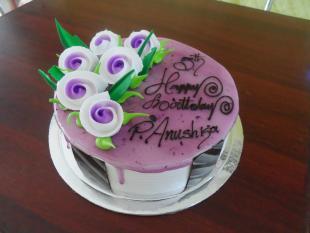 blackcurrant-cake