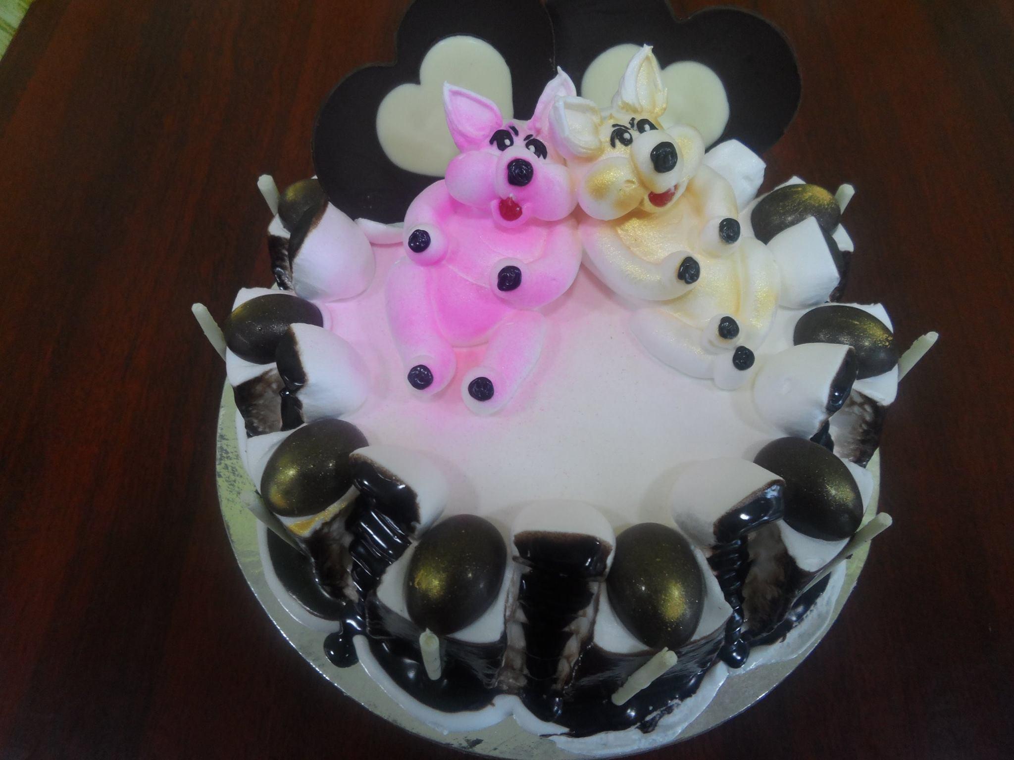choco truffle with cute rabbits