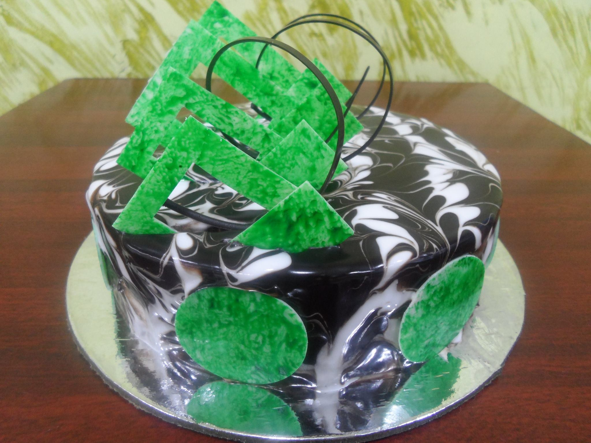 choco ZEBRA Cake