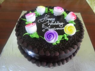 chocolate-flower-garden-cake