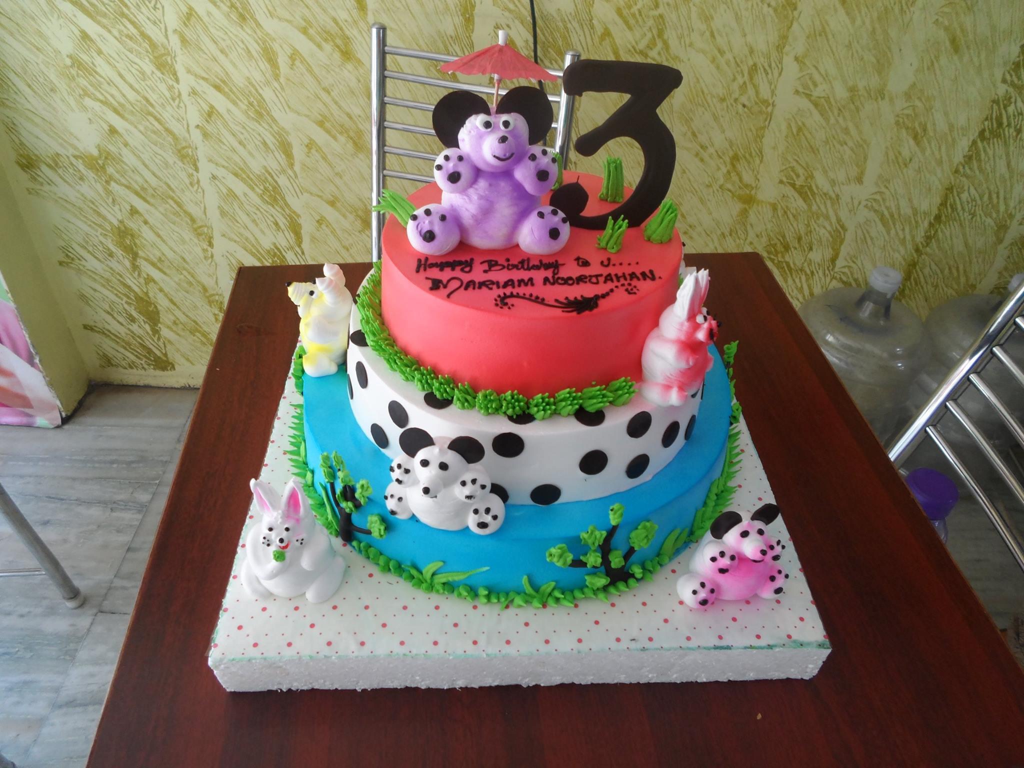 customized birthday cake madurai