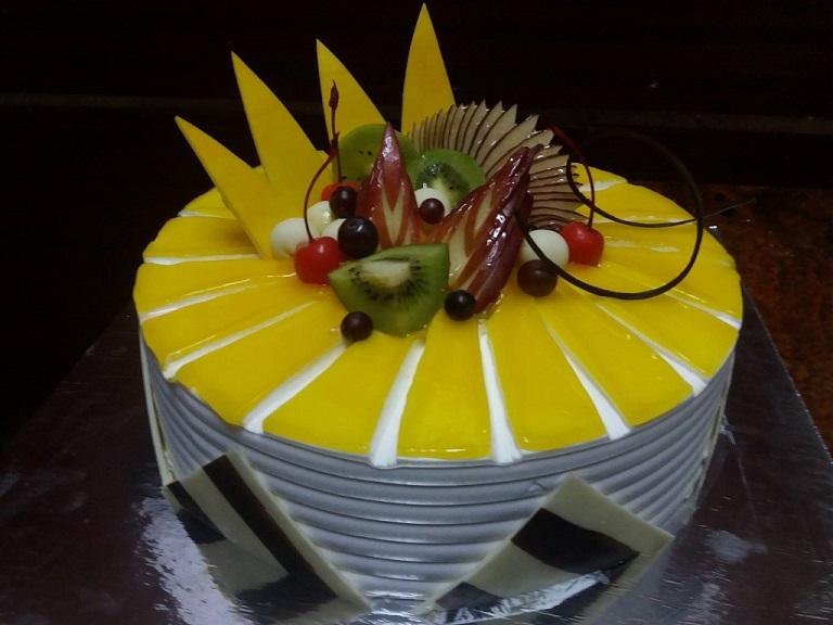 healthy fresh fruit cake