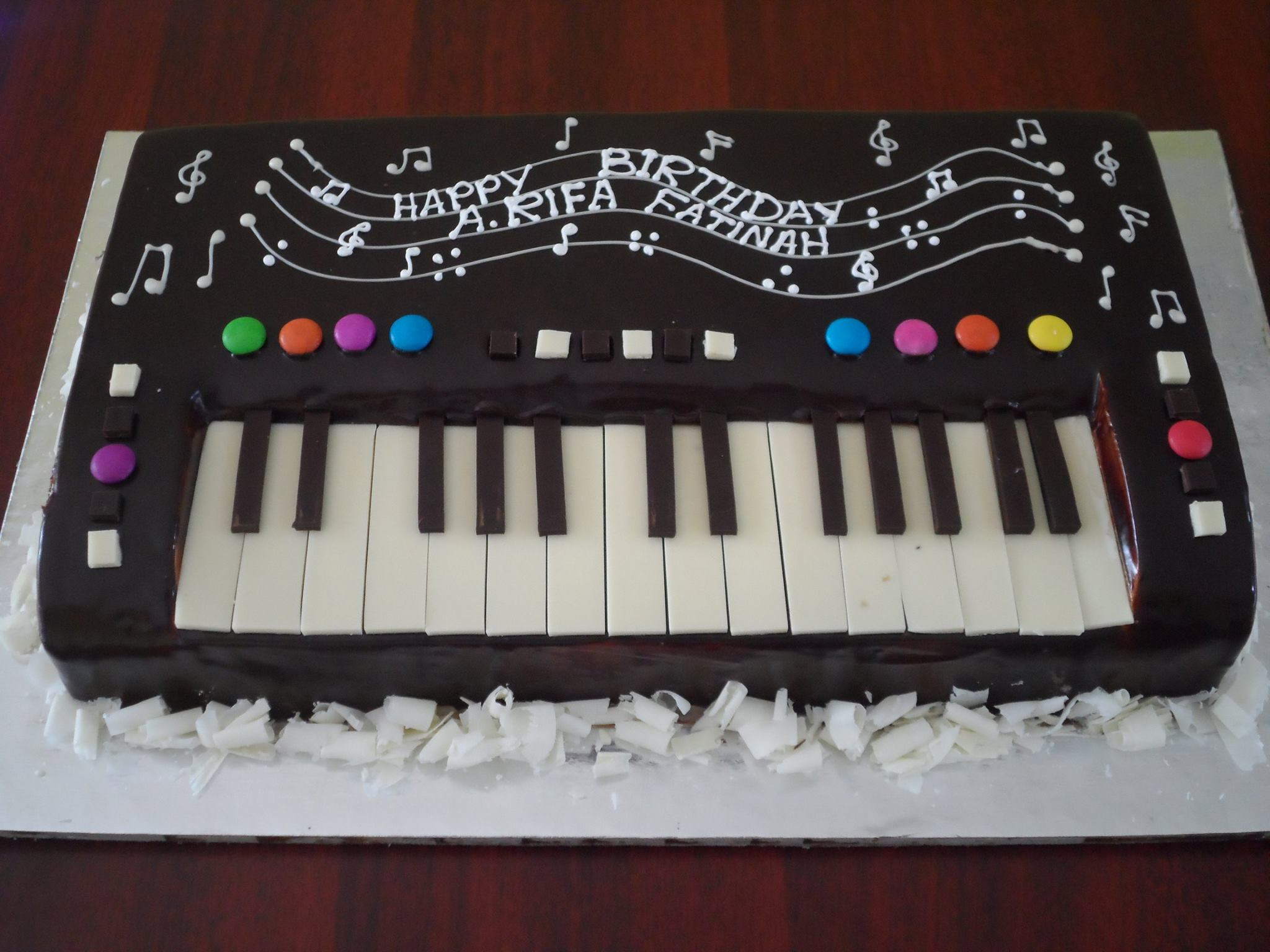 Keyboard Cake Fresh Creamz Bakery Send Cake To Madurai