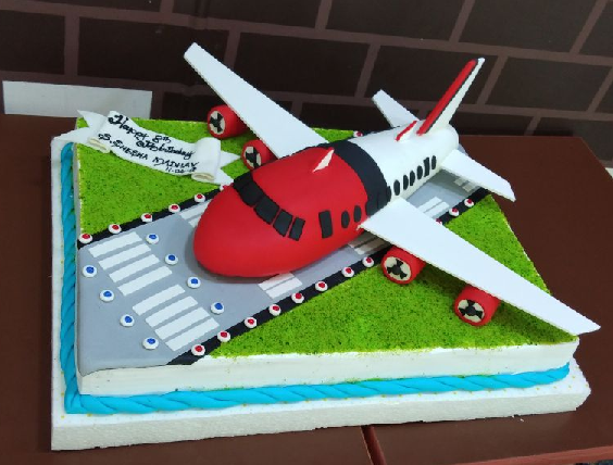 madurai flight cake from fresh creamz
