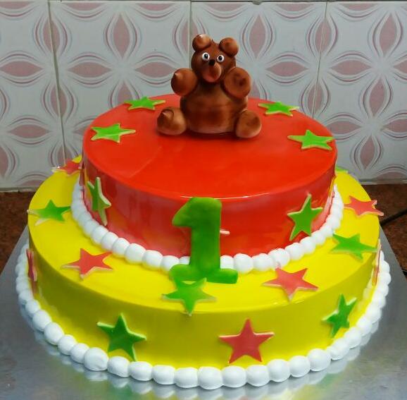 madurai fresh creamz two tier cake