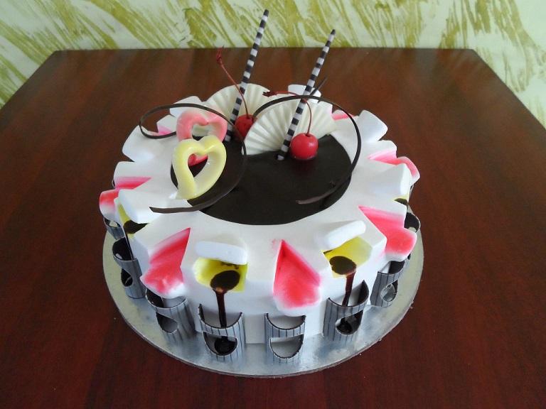 oriental chocolate cake