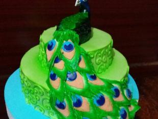 peacock-theme-cake-madurai