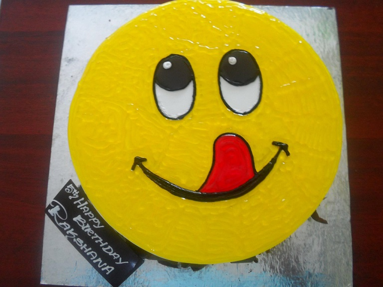 Smiley Cake Cake Delivery From Madurai Best Bakery